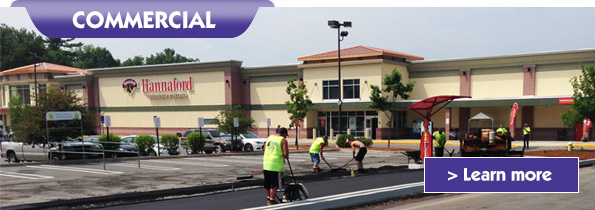 commercial paving services - Sam Cooper